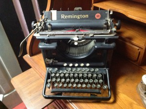 Antique Manual Typewriter