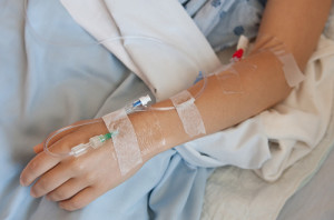 IV in Arm and Hand